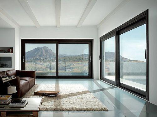 salon style minimal vitrail