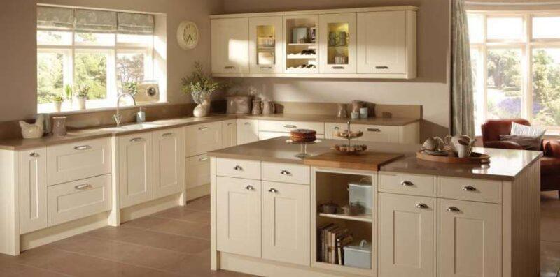 cucina color beige moderna casaomnia blog